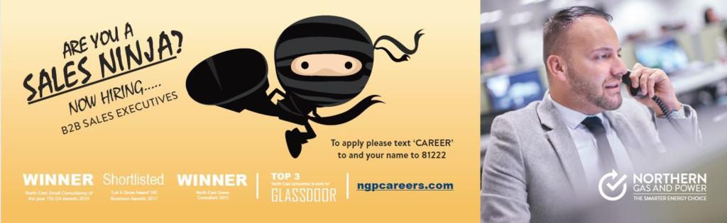Ninja metro advert
